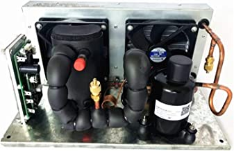 P-Plate Liquid Chiller Module DC 12V 106-360W Cooler Module Liquid Cooling System,Liquid Chiller Module R134A Refrigerant Liquid Loop Cycling Refrigeration Liquid refrigeration