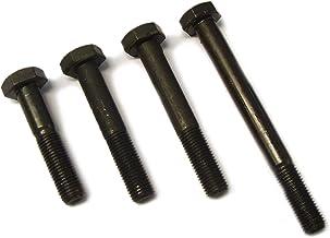 12mm M12 x 55 A2 Stainless Steel Part Threaded Hex Head Bolts Hexagon Screws DIN 931-20 Pack