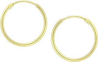 MyGold enfants boucles doreille Boucles doreilles or jaune 333/C/œur 16/oxyde Communion Bapt/ême v0012506