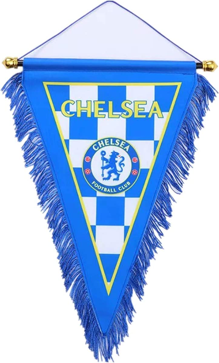 Petersocks Football Club Flag Decoration Vertical Hanging Triangle Flag for Bar Indoor Or Outdoor
