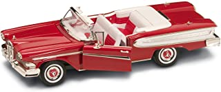 Yat Ming Diecast Metal Edsel Citation Convertible Year 1958 - 1:18 Scale in Red