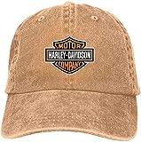 Personalized Harley Davidson Logo Cool Baseball Caps for Man Black,Sombreros y Gorras