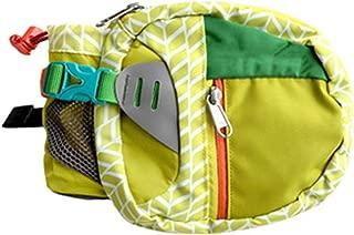 Multi-Function Large Capacity Water Bottle Waist Bag Travel Tear-Resistant Fanny Pack Men Women Casual Polyester Belt Bag,Yellow Waist Bag