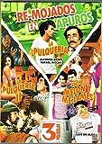 REMOJADOS EN APUROS '3 PELICULAS' [1.-LA PULQUERIA & 2.-LA PULQUERIA 2 & 3.-ENTRE MELON Y ME LAMES] ALFONSO ZAYAS,LUIS DE ALBA,RAFAEL INCLAN,SASHA MONTENEGRO.