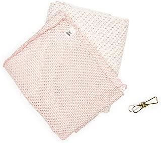 Winter In Holland Mutlipurpose Dutch Household Towel - Peppercorn Pink - Use as Tea Towel, Dishcloth, Hand Towel, or Napkin