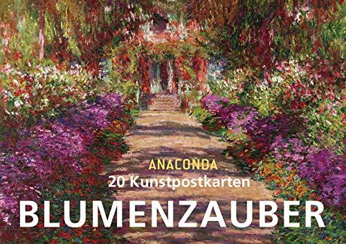 Postkartenbuch Blumenzauber: 20 Kunstpostkarten