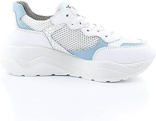 Luxury Fashion | Igi & Co Women 5168000BLU White Leather Sneakers | Spring-summer 20
