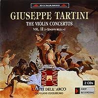 タルティーニ:ヴァイオリン協奏曲集 11 (グリエルモ/ラツァリ/ラルテ・デラルコ