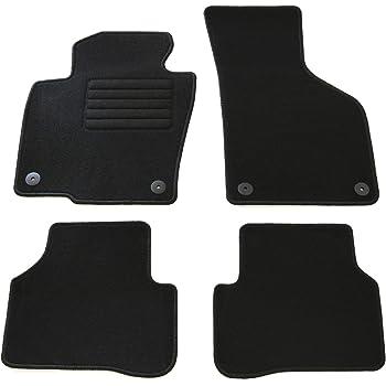 Ad Tuning Gmbh Hg12267 Velours Passform Fußmatten Set Schwarz Auto