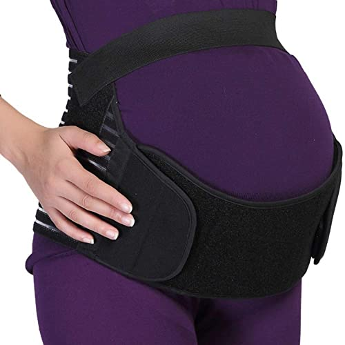 Maternity Belt Breathable Adjustable Elastic and Thin Belly Band/Brace - Provides Hip, Pelvic, Lumbar and Lower Back ...