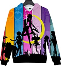 Unisex Apparel Costume Hoodie Sweater Cosplay Sailor Moon Sweatshirts Clothing Jumpers Top Fashion Hooded
