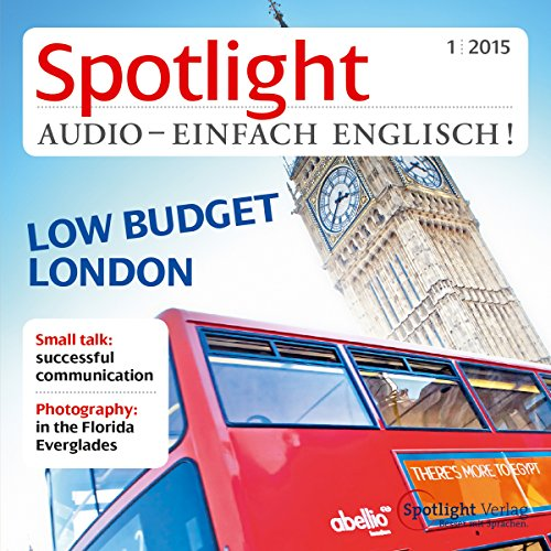 Spotlight Audio - London low budget. 1/2015 Titelbild