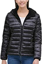 Andrew Marc Ladies' Ultra Soft Attached Hood Reversible Jacket
