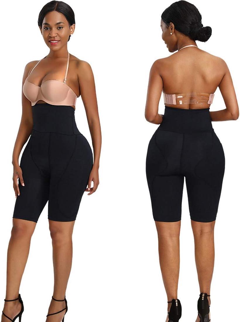 Oraunent Women Hip Enhancer Panties Padded Butt Lifter Seamless Hip Padding Shapewear Black XL