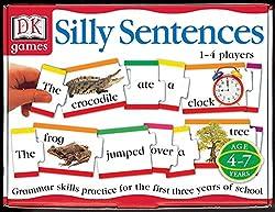 dk games silly sentences instruction sheet