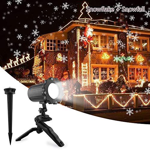 UNIFUN Proiettore Luci Natale Esterno Effetto...