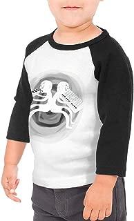 SheyAnsh Aphex Twin Baby Girls Boys 3/4 Sleeve Shirts Raglan Shirt Baseball Tee Cotton