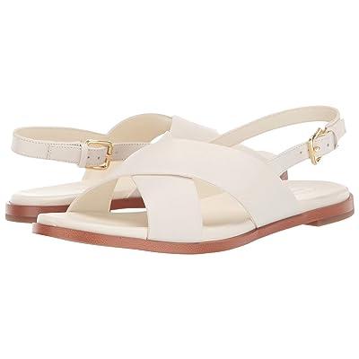 Cole Haan Fernanda Grand Flat Sandal (Ivory Leather) Women
