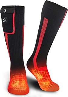 lenz heated ski socks