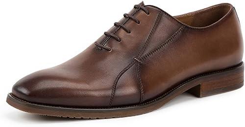ZPFME Herren Herren Herren Oxford Schuhe Klassische Formale Business Schnürschuhe Für Männer Lederschuhe Office Brogues Schuhe  Neuheiten der neuen Produkte