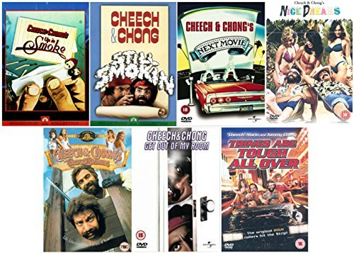Cheech and Chong Ultimate DVD Collection: Cheech & Chong\'s Up in Smoke / Cheech & Chong Still Smokin\' / Cheech And Chong\'s Next Movie / Cheech And Chong\'s Nice Dreams / Cheech And Chong\'s The Corsican Brothers / Cheech And Chong: Get Out Of My Room / Cheech And Chong\'s Things Are Tough All Over + Special Features + Extras by Cheech Marin