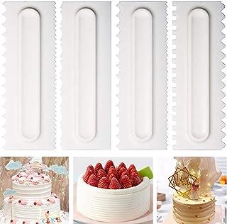 3Pcs Pâtisserie beurre pâte gâteau Cookie Grattoir Decorating Cutter bricolage Outils il