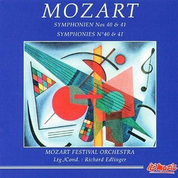 Mozart: Symphonien Nos. 40 & 41