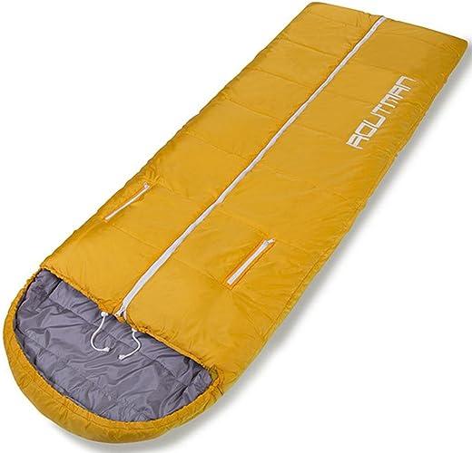 BRG315 Sac De Couchage Adulte Seasons Portable Ultra-Léger De Camping En Plein Air épais Sac De Couchage En Coton Intérieur Chaud
