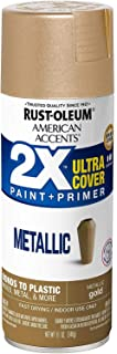Rust-Oleum 327909 American Accents Spray Paint, 11 Ounce (Pack of 1), Metallic Gold