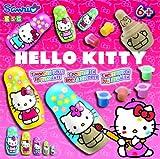 KSG Matryoshka Hello Kitty Poupées à Peindre 3,5-11 cm Couleurs Assorties