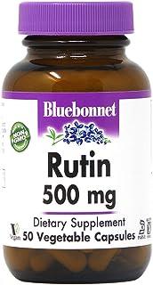 Bluebonnet Nutrition Rutin 500 mg, 50 Vegetable Capsules