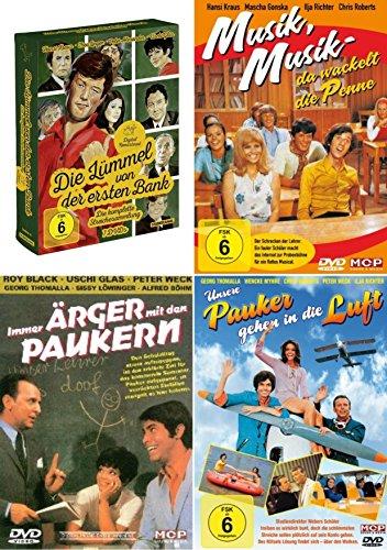 PENNE , PAUKER und die LÜMMEL VON DER ERSTEN BANK 10 deutsche Kult Komödien Klassiker aus den 60er und 70er DVD Edition