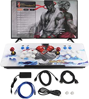 SupYaque Pandora Box Retro Arcade Game Console with Latest 3D & 2D System 2020 Games All in 1 Full HD 2 Players Joystick and Buttons Built-in Speaker (2020 in 1)