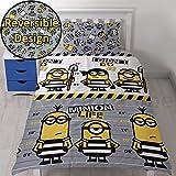 Universal Despicable Me Jailbird - Conjunto de ropa de cama con funda de edredón, diseño...