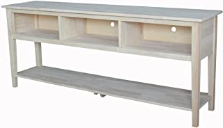 Best international concepts unfinished tv stand Reviews