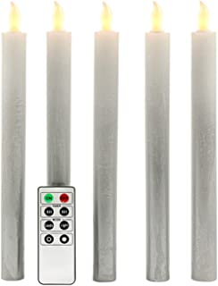 Best silver battery candles Reviews