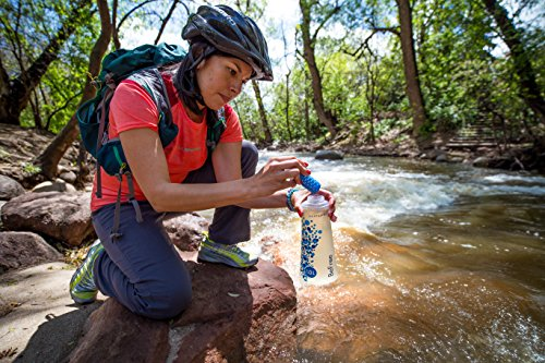 Katadyn BeFree 1.0L Water Filter, Fast Flow, 0.1 Micron EZ Clean Membrane for Endurance Sports, Camping and Backpacking, One Size, 8018006