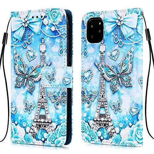 Nadoli Coque Cuir pour iPhone 11 Pro Max 6.5\