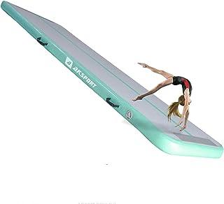 Air Track 10ft 13ft 16ft 20ft Airtrack Gymnastics Tumbling Mat Tumble Tumble Tumble Mat با پمپ هوا برقی برای مصارف خانگی / Tumble / Gymnym / Training / Cheerleading