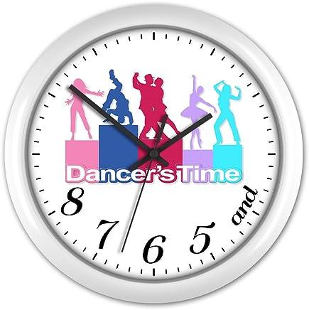 Dancers Clock Dance Tutor Dancing Ballet Studio Gift #4