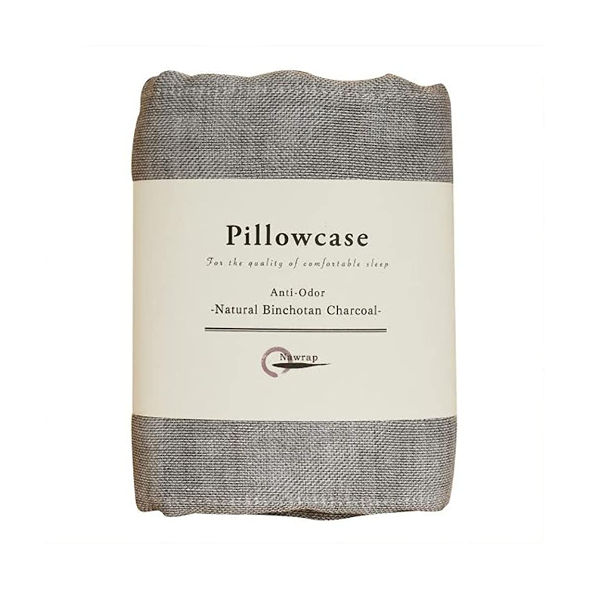 IPPINKA Nawrap Binchotan Charcoal Pillowcase, Naturally Anti-Odor