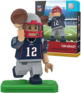 OYO NFL New England Patriots Gen4 Limited Edition Tom Brady Mini Figure, Small, White