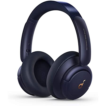 Soundcore by Anker Life Q30 Hybrid Active Noise Cancelling Headphones with Multiple Modes, Hi-Res Sound, Custom EQ via App, 40H Playtime, Comfortable Fit, Bluetooth Headphones, Connect to 2 Devices