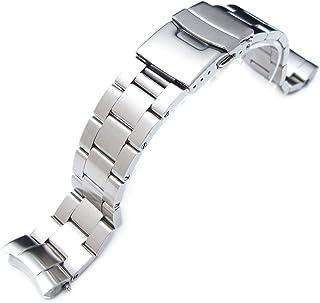 セイコーSumo SBDC001 SBDC003 SBDC031 SBDC033用スーパーオイスター交換用腕時計バンド20mm
