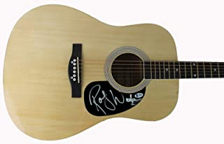 Pink Floyd Roger Waters Authentic Signed Acoustic Guitar Autographed BAS #A70281