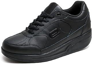 Tenevis Women's Cardiff Black Walking Shoe 8 M US