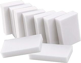 MUCHIC® メラミンスポンジ 掃除 汚れ落とし 洗剤いらない お風呂 ガラス 浴室 台所用40個セット(10*6*2cm)