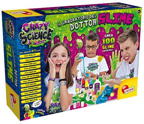 Lisciani Giochi - Crazy Science Il Grande Laboratorio del Dottor Slime Gioco per Bambini, 77496