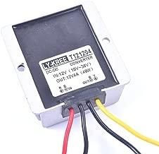Car DC 12V 4A Voltage Stabilizer Surge Protector Power Supply Regulator for Auto Truck Vehicle Boat Solar System etc.(DC10-36V Input, DC12V Output)