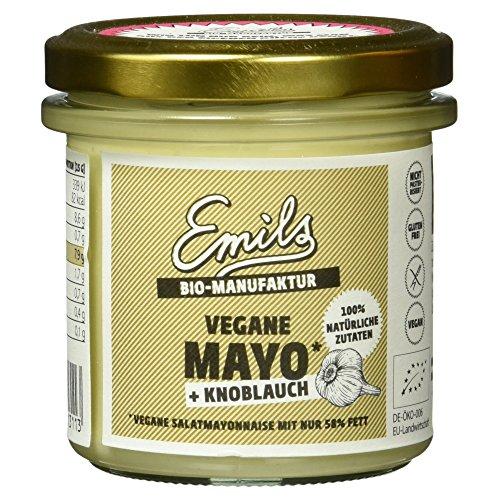 Emils Bio Bioland vegane Mayo plus Knoblauch, 125 g